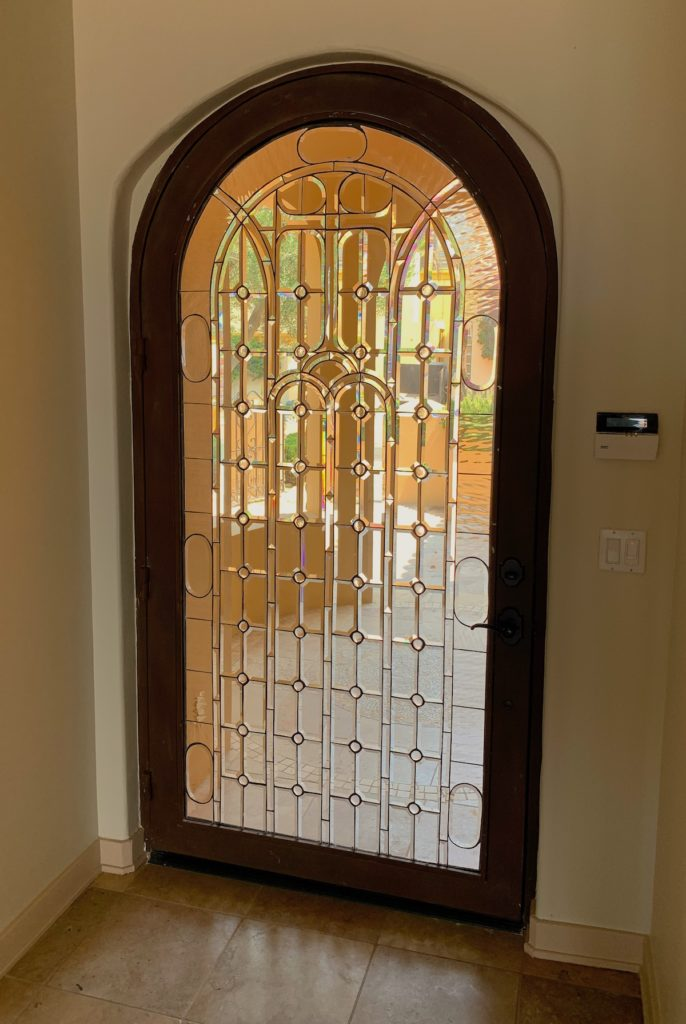 Custom made front door