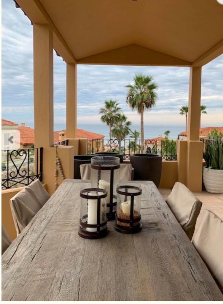 Ocean patio